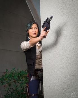 WonderCon 2018 Cosplay Han Solo Genderbend
