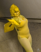 WonderCon 2018 Cosplay Yellow Pearl Steven Universe