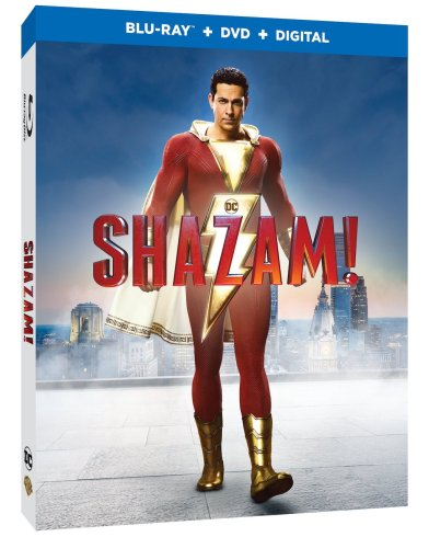 Shazam Blu-ray Box Art