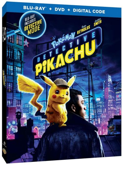 Detective Pikachu Blu-ray Box Art